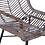Thumbnail: Kubu Dining Arm Chair Gray