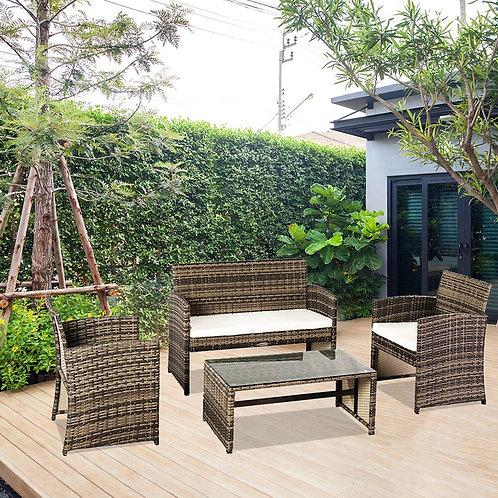 Outdoor Furniture Set, Outdoor Furniture, Rattan Furniture Four-Piece