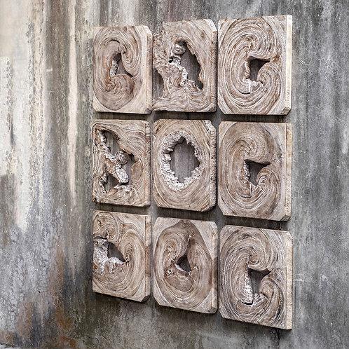 Bahati Acacia Wood Wall Art