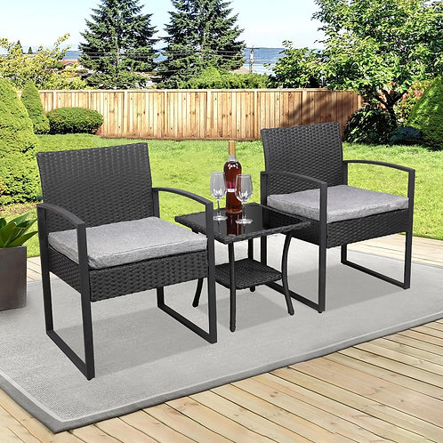Patio Furniture Chair  and Table Set, Garden Patio Seating, Outdoor Chairs
