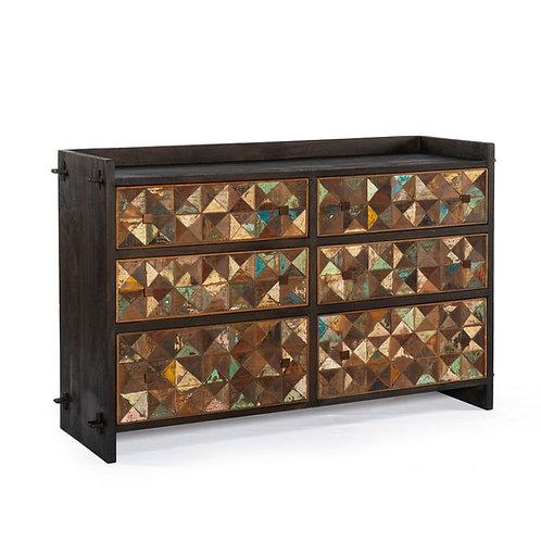 Rio Six Drawer Dresser