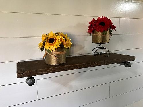 Industrial Reclaimed Farmhouse Shelf