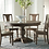 """Thumbnail: Colonial Plantation Round Dining Table 60"""" Weathered Teak"""
