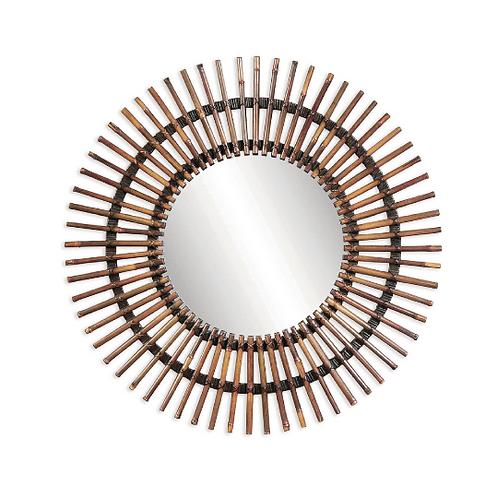 Sun Ray Round Mirror