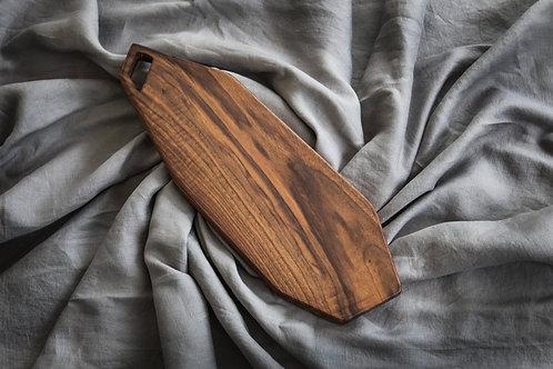 Walnut Cutting Board, Charcuterie Board, Solid Wood Cutting Board, Walnut