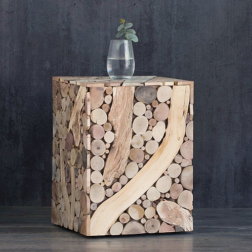 Bunching Cube, End Table, Side Table