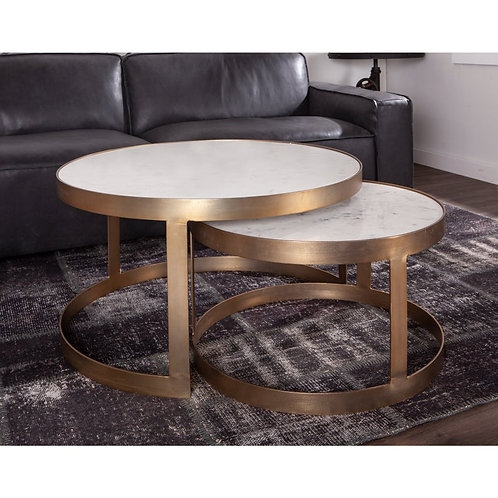 Marble Nesting Coffee Table