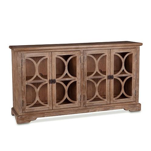 San Rafael Glass Cabinet