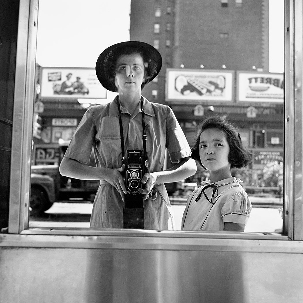 VIVIAN MAIER SELF PORTRAIT WITH CHILD