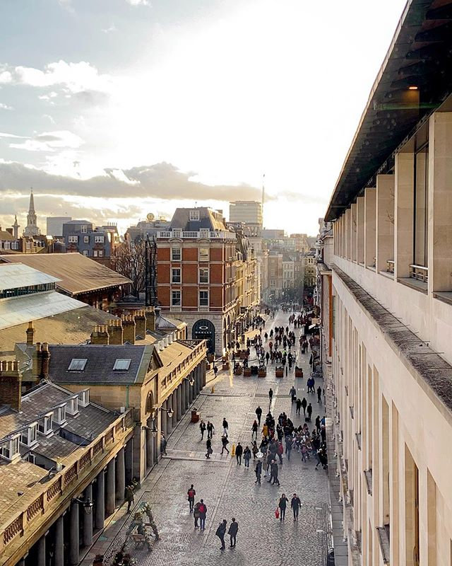 Covent Garden LONDON  rooftop view from by The Lois Edit