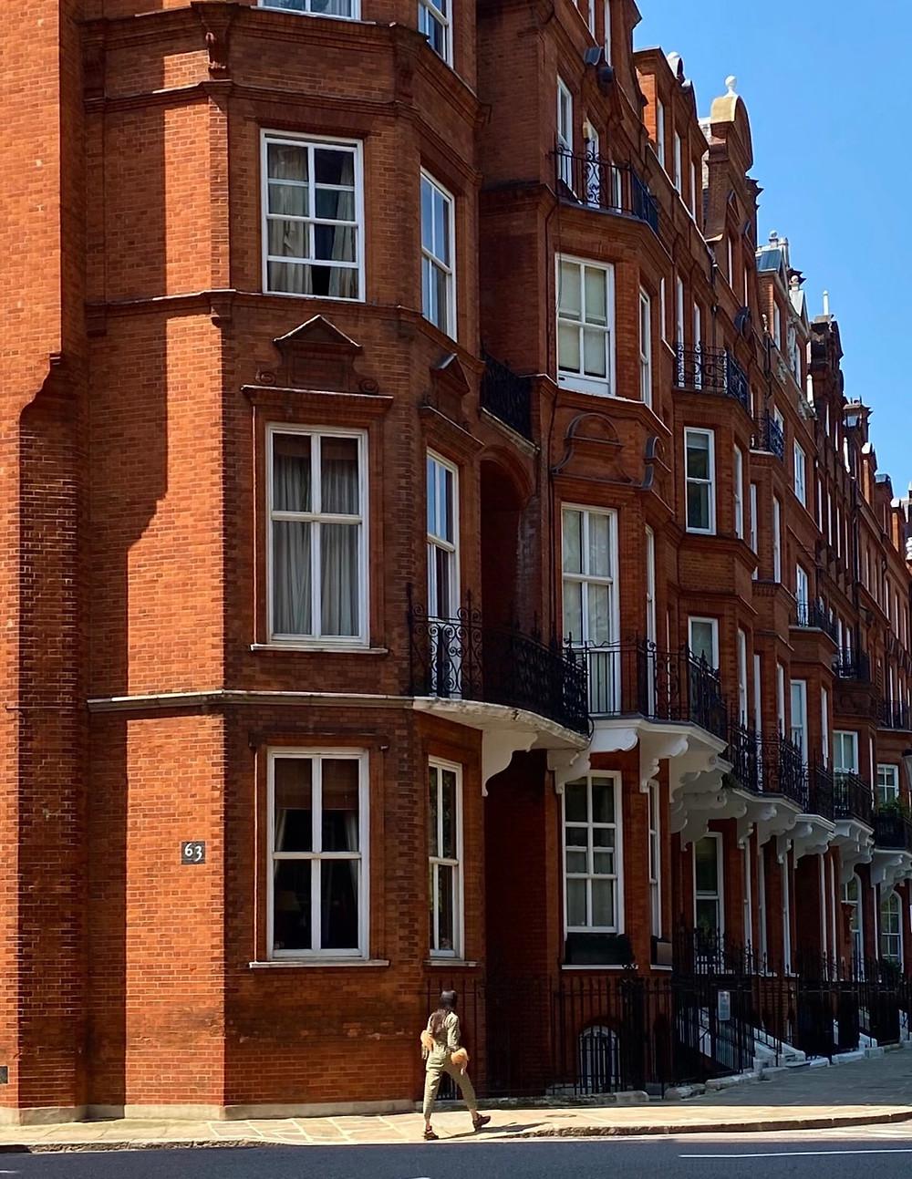 Cadogan Estate Chelsea London Red Brick Mansion Blocks