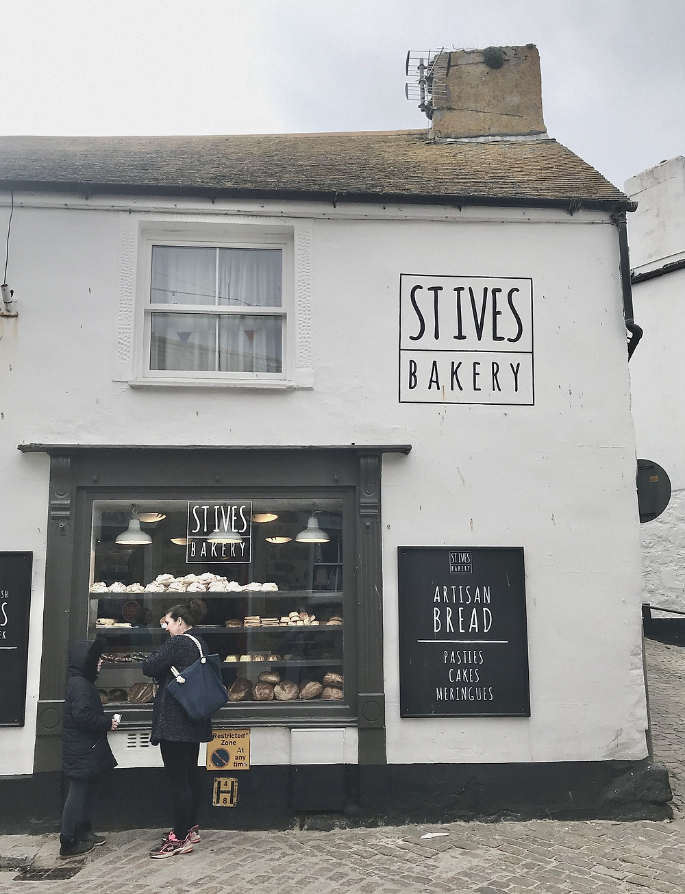 Places to eat St Ives  Bakery Cornwall