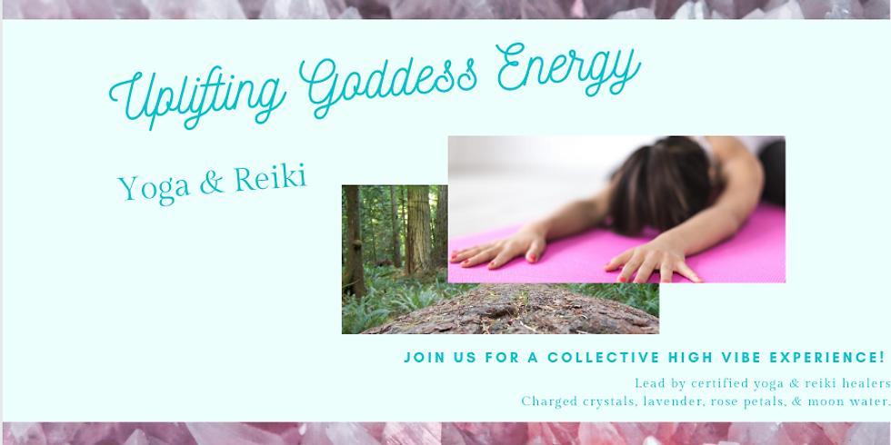 Uplifting Goddess Energy (Yoga&Reiki)