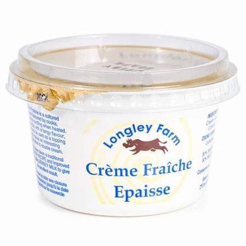 Longley Farm Crème Fraîche