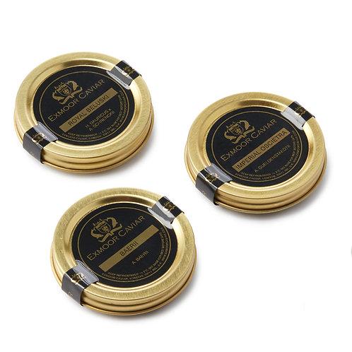 Exmoor Caviar - Caviar Taster Set, 10g