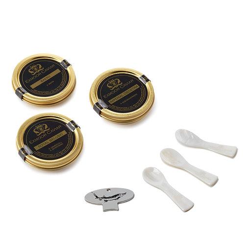 Exmoor Caviar - Deluxe Caviar Taster Set, 30g