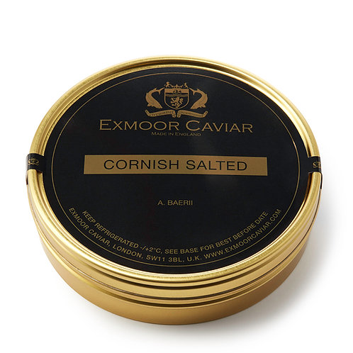 Exmoor Caviar - Cornish Salted, 500g