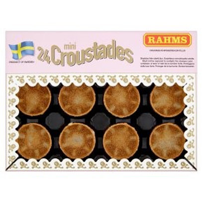 Rahms Croustade Canapé Cases, 24