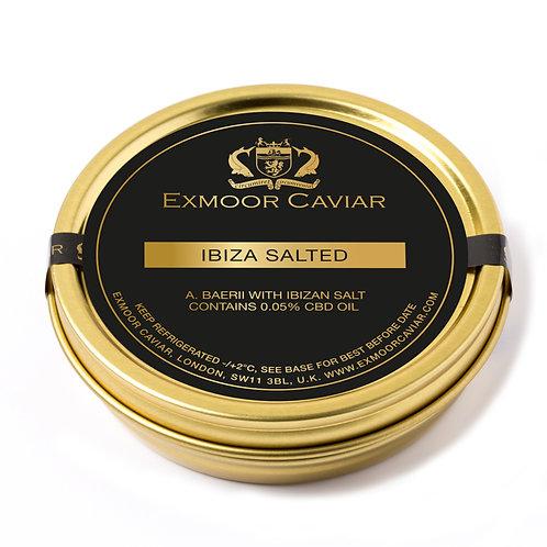 Exmoor Caviar - Ibiza Salted, Infused with CBD Oil, 20g