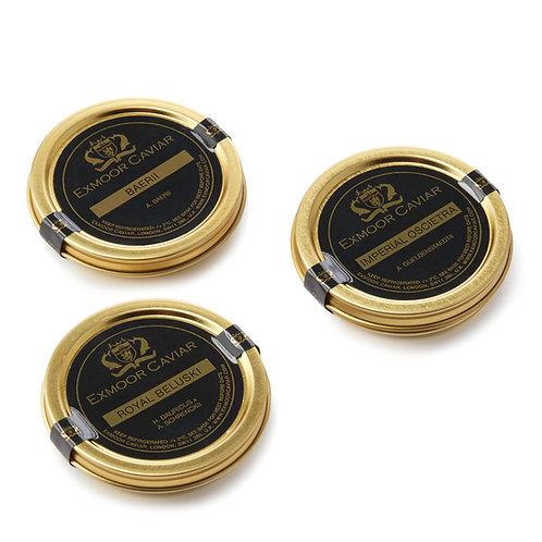 Exmoor Caviar - Caviar Taster Set, 30g