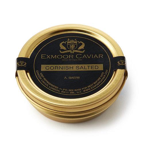 Exmoor Caviar - Cornish Salted, 50g
