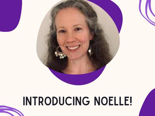 Welcome Noelle!