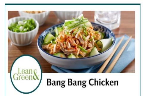 Bang Bang Chicken! Yum...