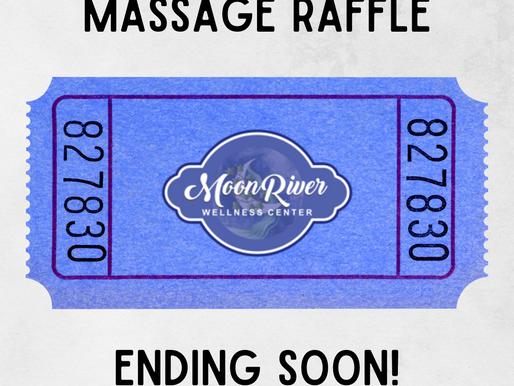 Free Massage Raffle Ending July 31st!