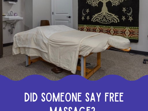 Raffle for a Free One Hour Massage!