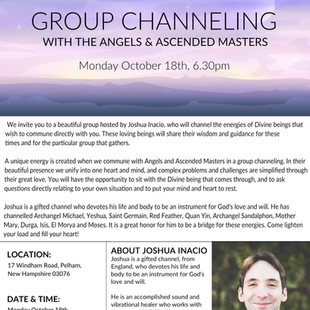 Group Channeling with Angels & Ascended Masters