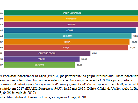 Docentes na educação a distância e as instituições do setor lucrativo