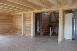 Baumberger, construction chalet