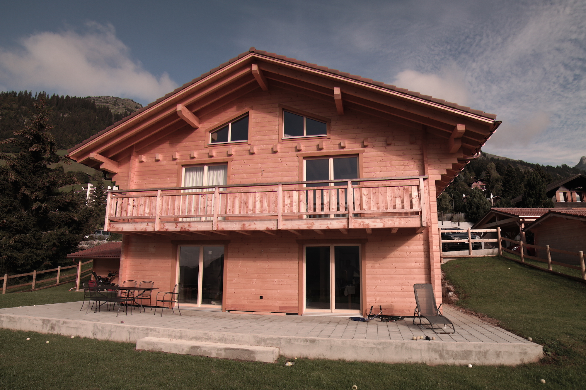 Baumberger, construction chalet