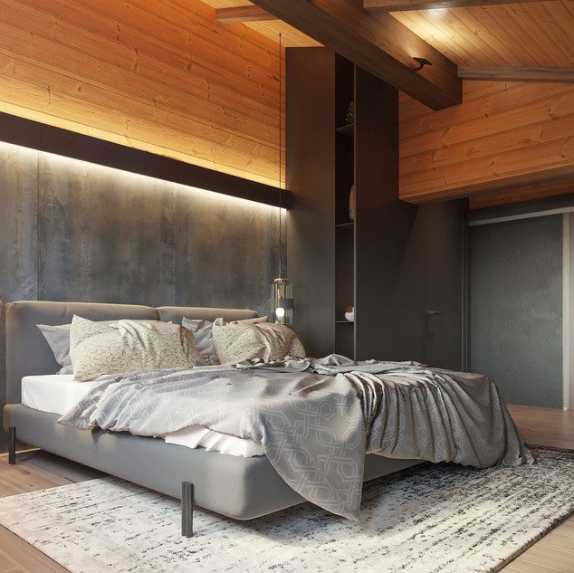 Design for chalet rooms