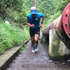 Pascal Egli entrainement en Equateur