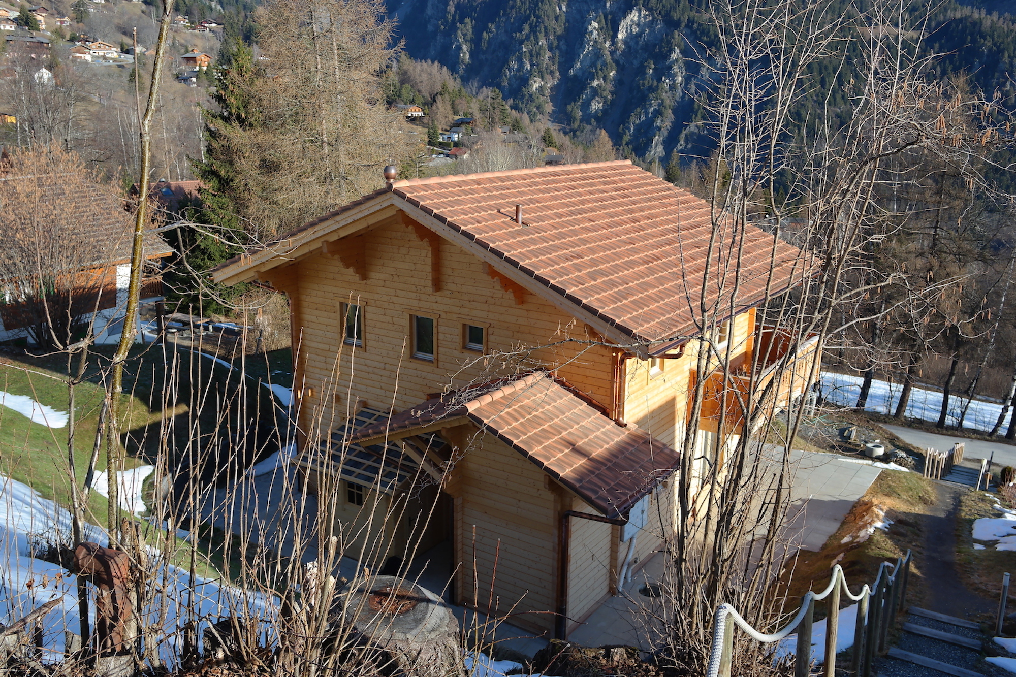 Baumberger Construction Chalet