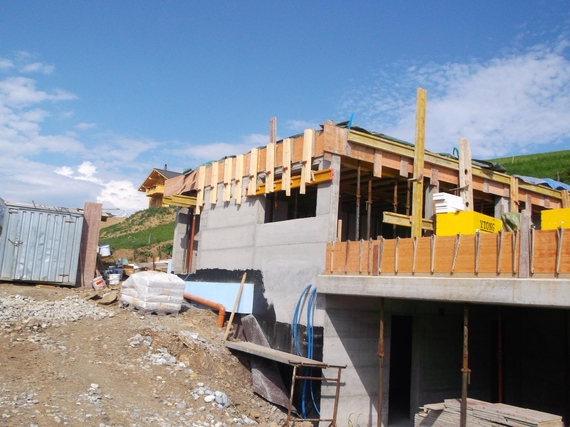 Baumberger, construction appartement