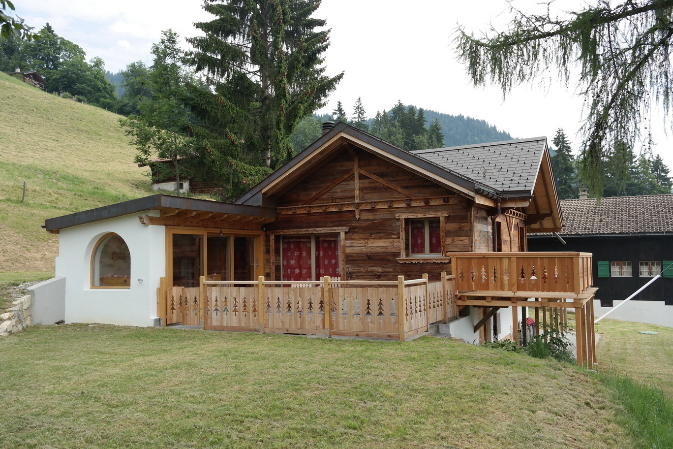 Baumberger, rénovation chalet