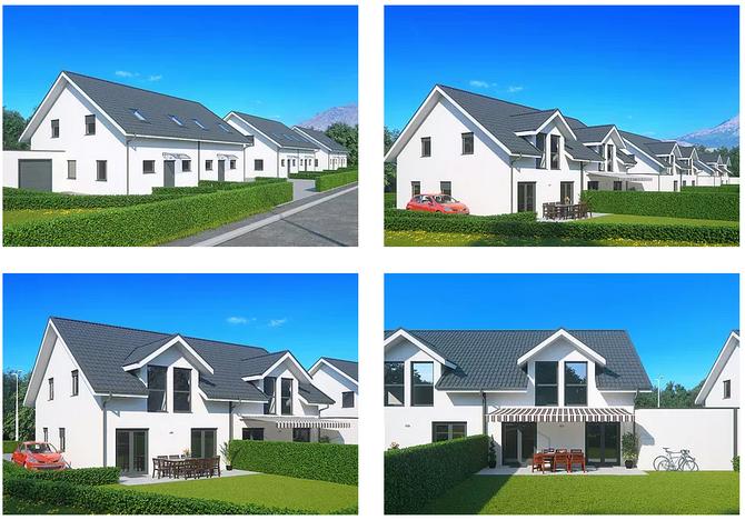 Construction de 6 villas en Valais