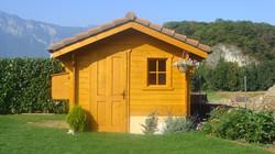 chalet de jardin Mont-Blanc