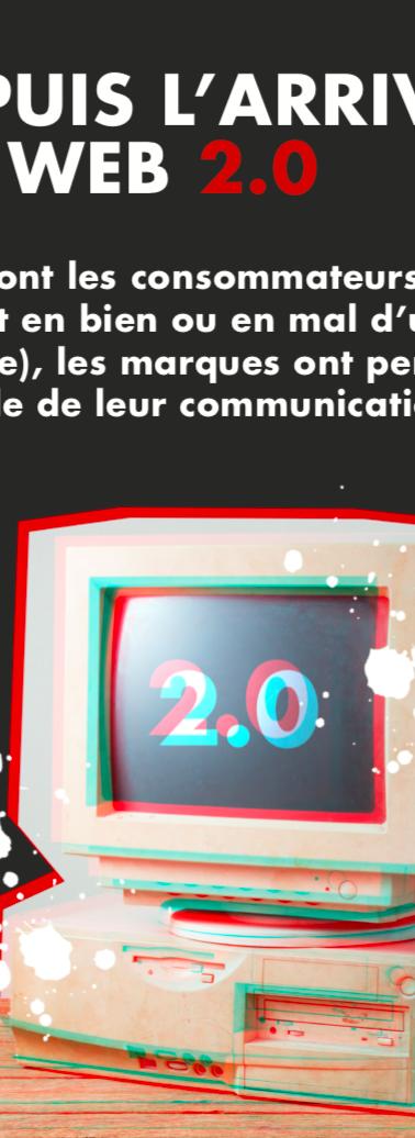 Web 2.0: les marques perdent le contrôle à 100%