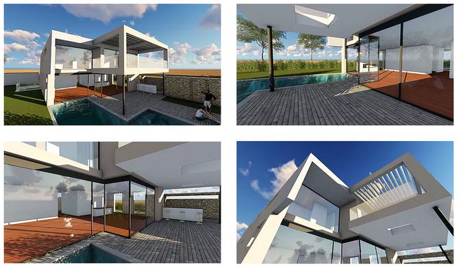 Construction d'une villa de haut standing