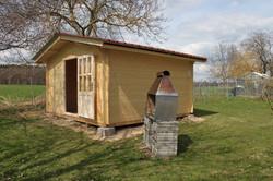 Cabane de jardin sur mesure