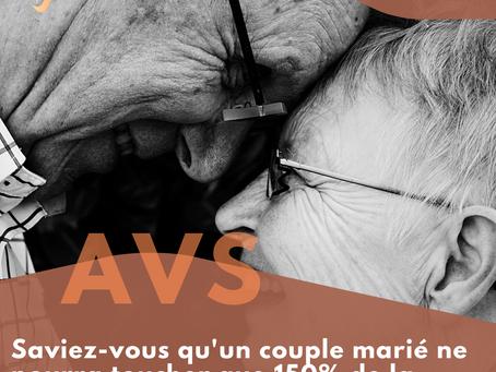 AVS: rentes de couples