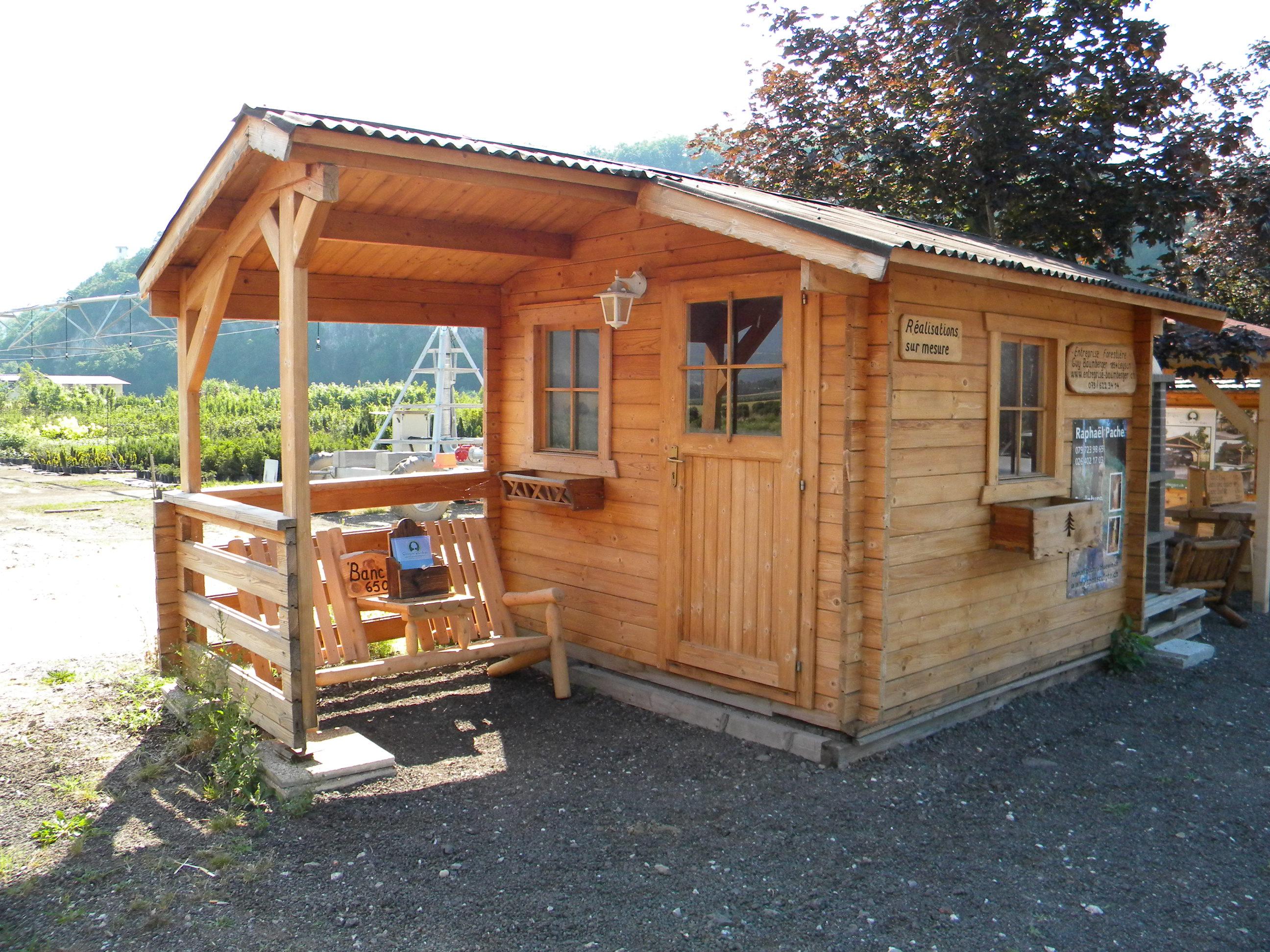 Entreprise Baumberger-chalet jardin