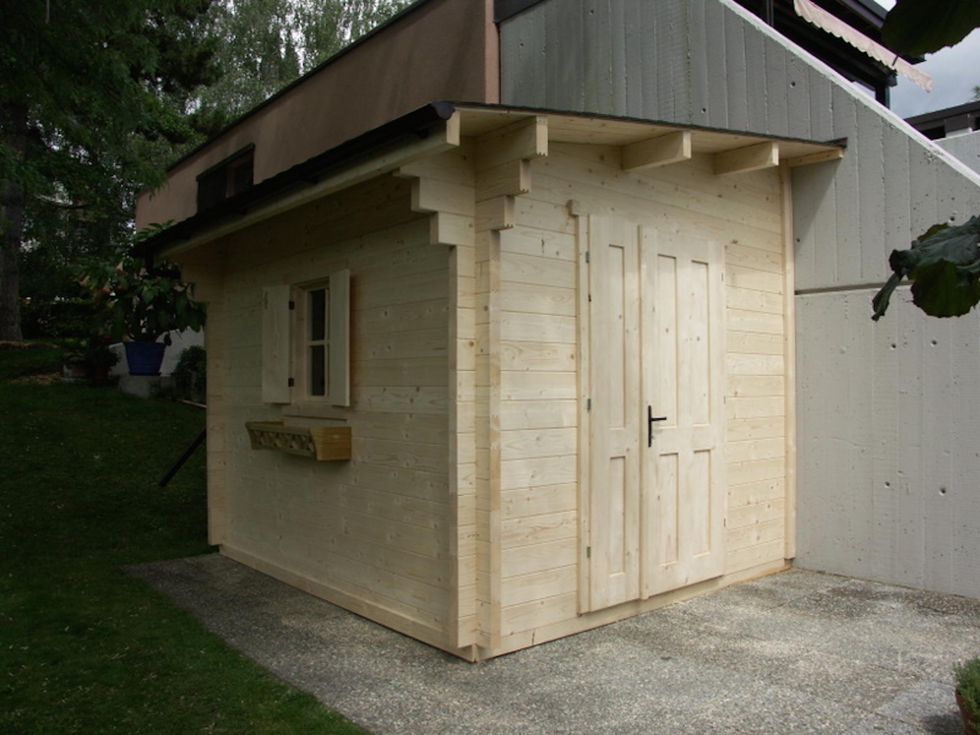 cabane sur mesure