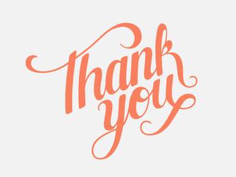 Thank You Thursday!