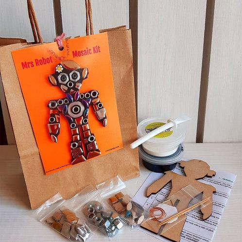 Mrs Robot Mosaic Kit