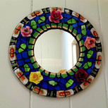 Finished! Ring of roses mirror 🌹🌹🌹🌹?