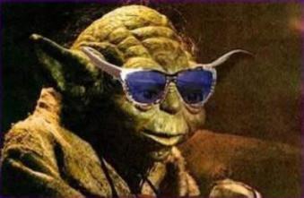 Yoda déchiffoné